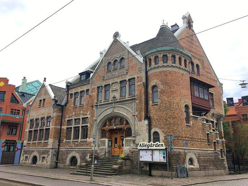Barrio Haga - Gotemburgo - Biblioteca popular