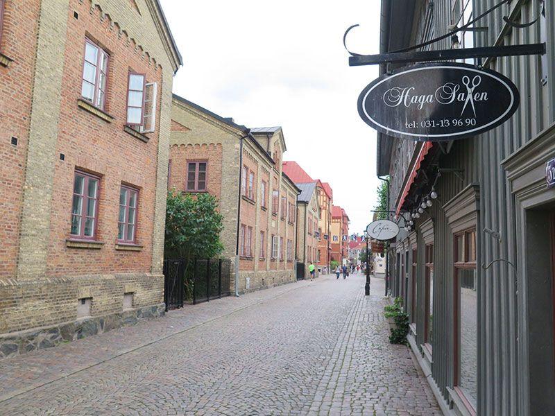 Barrio Haga - Gotemburgo - Calle