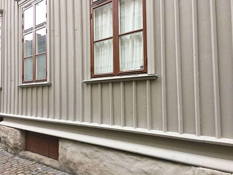 Barrio Haga - Gotemburgo - Estructura casas