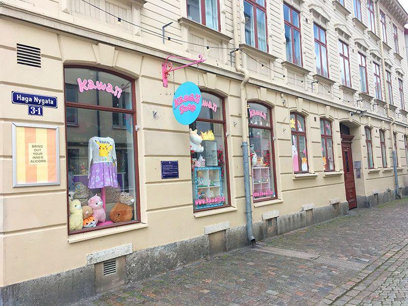 Barrio Haga - Gotemburgo - Fachadas
