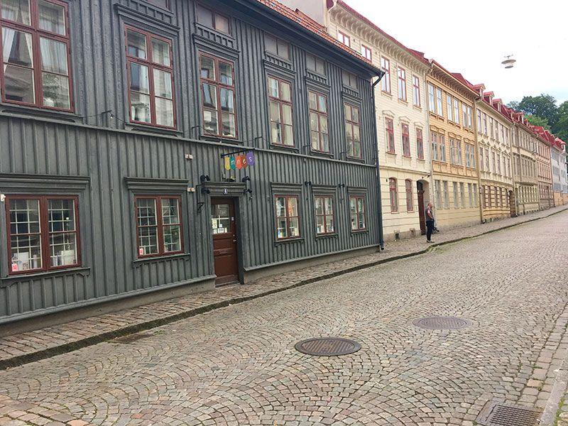 Barrio Haga - Gotemburgo - Estilo Gobernador