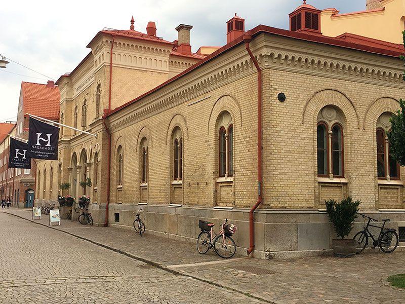 Barrio Haga - Gotemburgo - Hagabadet