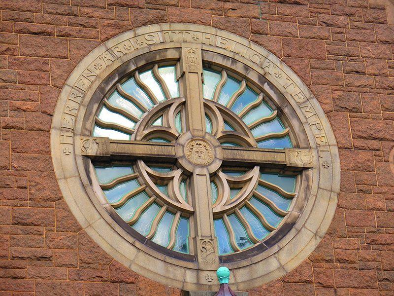 Barrio Haga - Gotemburgo - Iglesia de Haga - Detalle