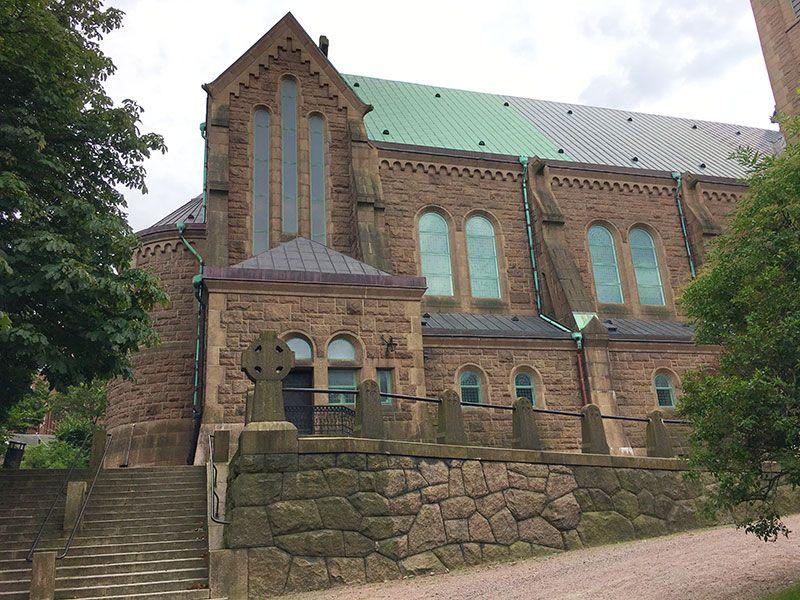 Barrio Haga - Gotemburgo - Iglesia de Haga