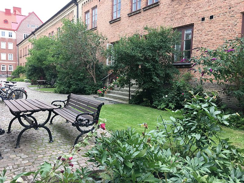 Barrio Haga - Gotemburgo - Jardín