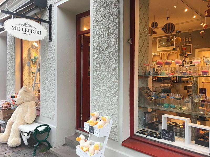 Barrio Haga - Gotemburgo - Tienda