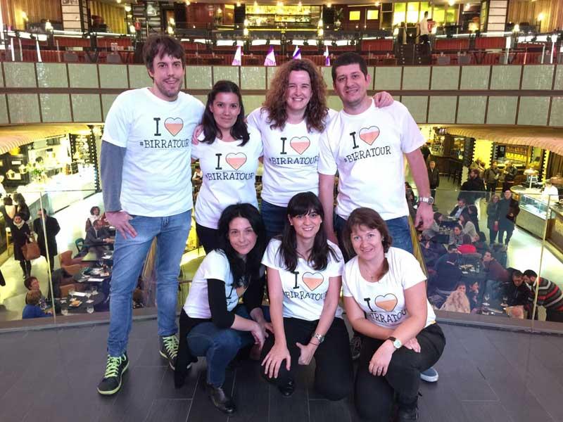 Equipo de MadridTB organizador de #birratour