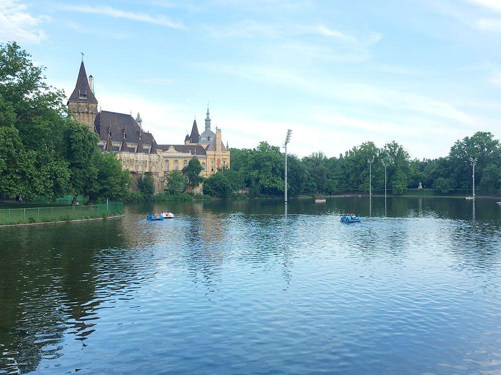 Budapest a la húngara - Parque Municipal