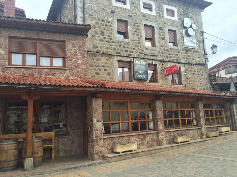 Café Bar Picos de Europa en Posada de Valdeón