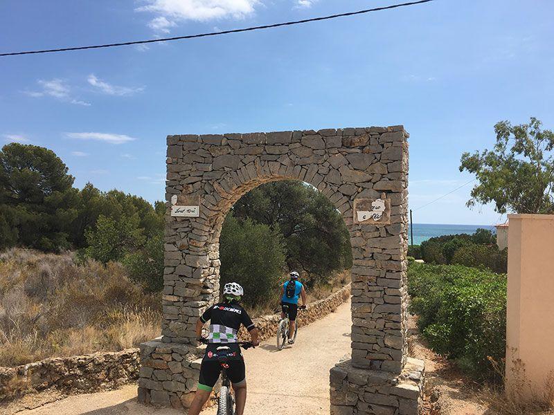 Calas y playas de Peñíscola - Acceso cala L'Aljub