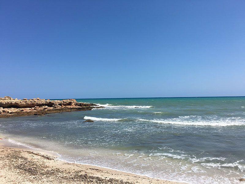 Calas y playas de peñíscola - Cala de Irta