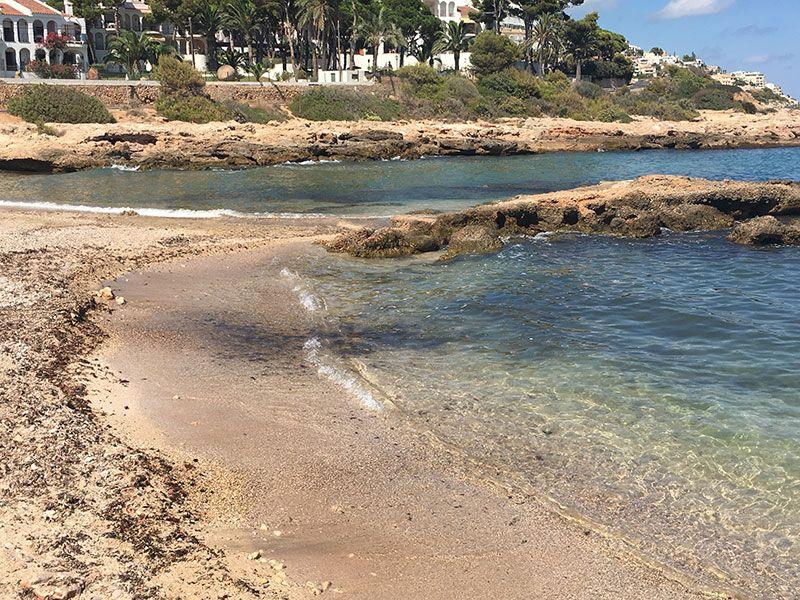 Calas y playas de Peñíscola - Cala del Moro