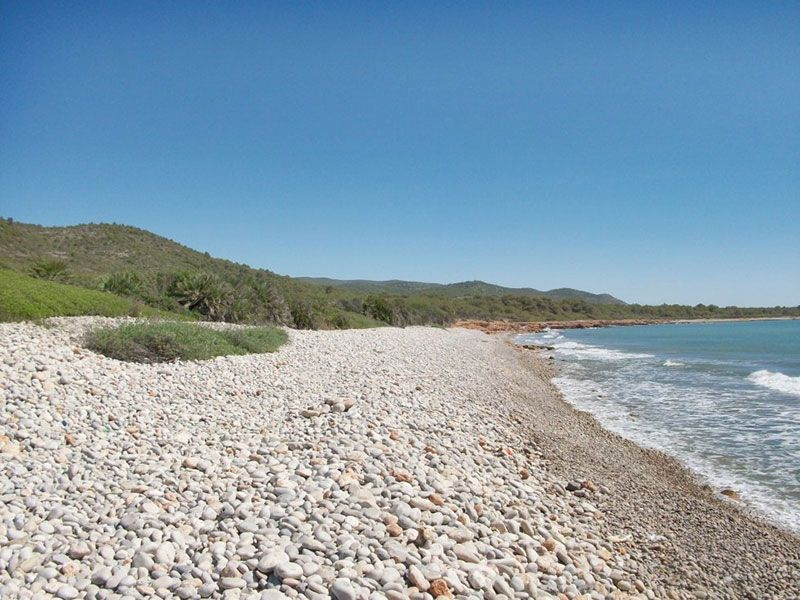 Calas y playas de peñíscola - Playa Basseta