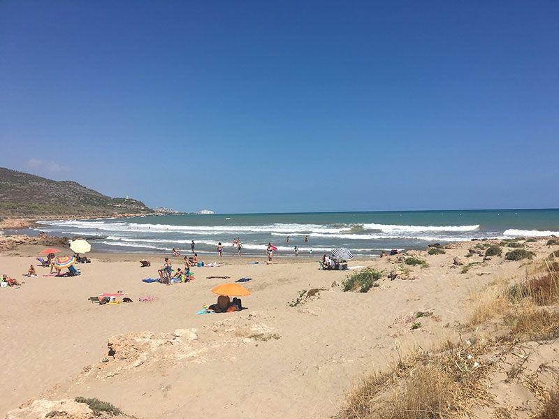 Calas y playas de peñíscola - Playa del Pebret