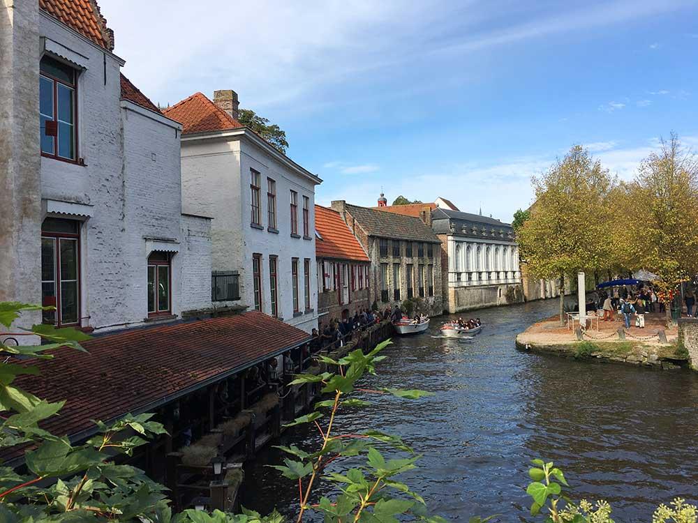 Zona de canales de Brujas