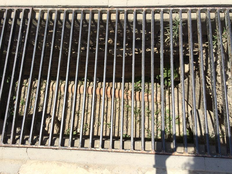 Sistema de canalización del Palacio de Knossos