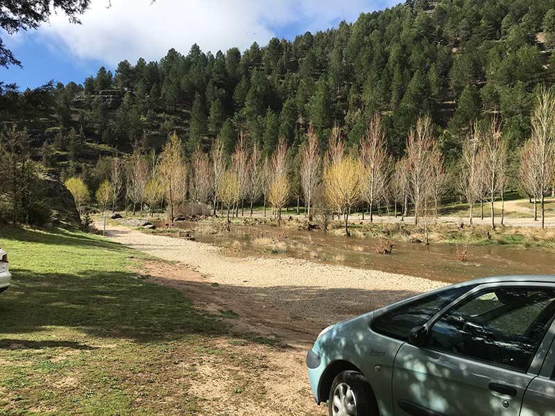 Cañón del Río Lobos - Aparcamiento Engómez