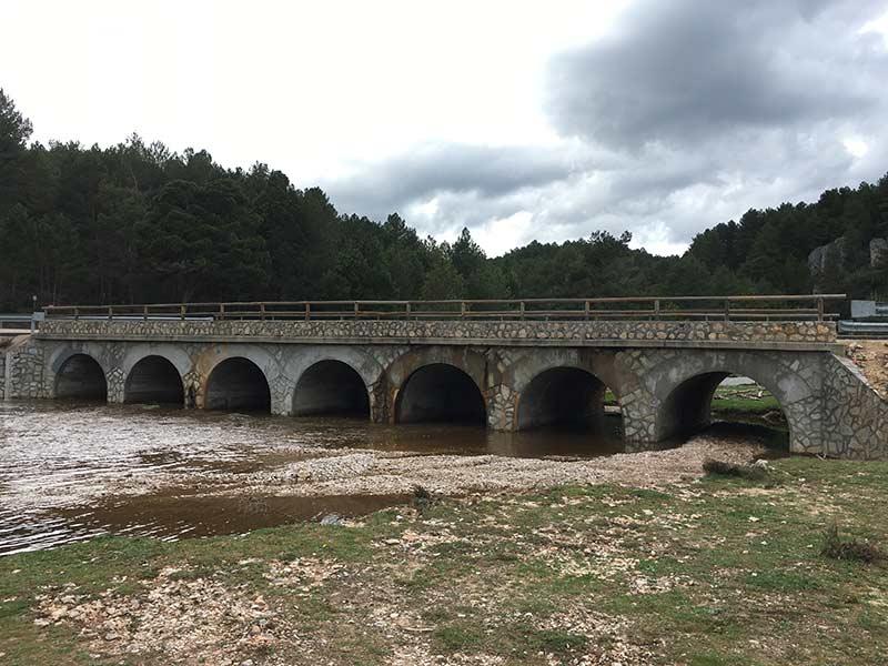 Cañón del Río Lobos - Puente de los 7 ojos