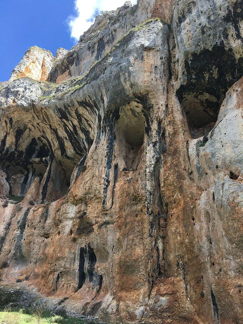Cañón del Río Lobos - Paredes del cañón