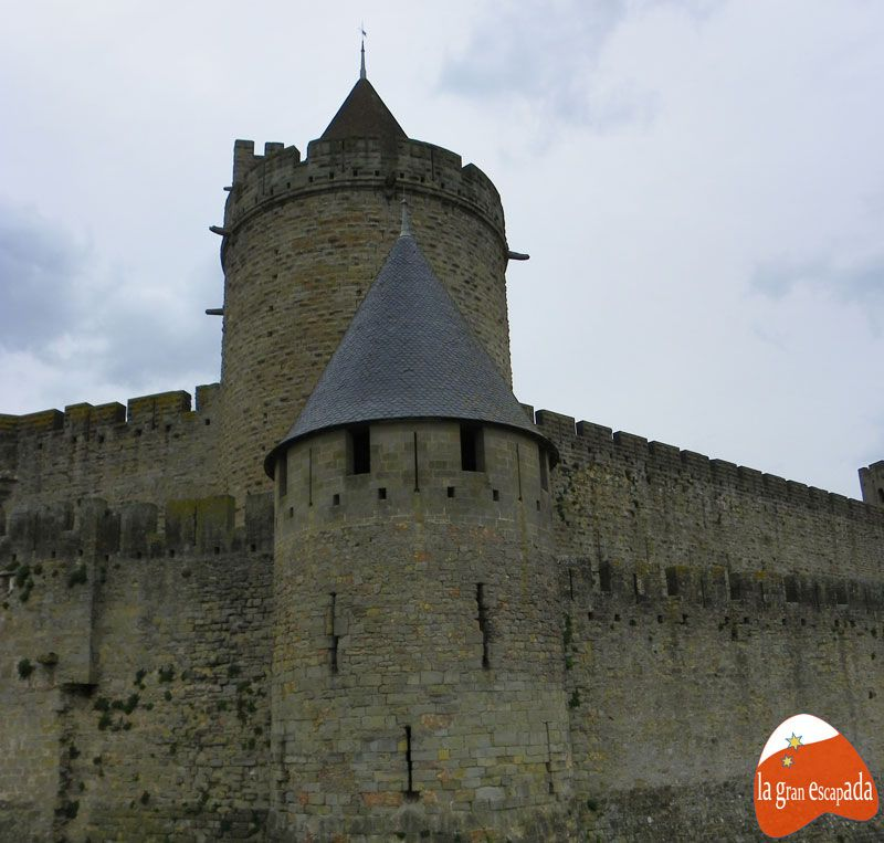 Muralla.Carcassonne
