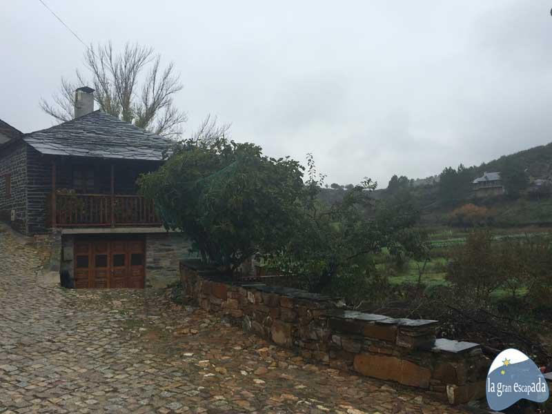 Casa típica en Rihonor - Rio de Onor