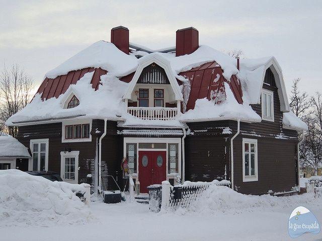 Casita grande en Kiruna
