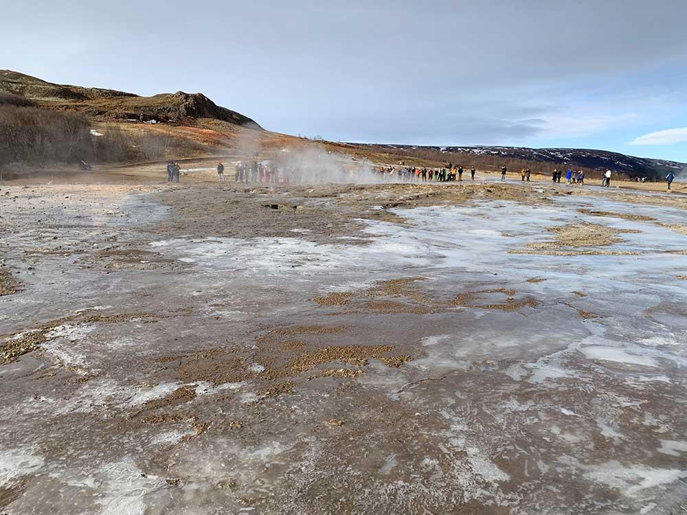 Área geotermal del Valle de Haukadalur en el Círculo Dorado