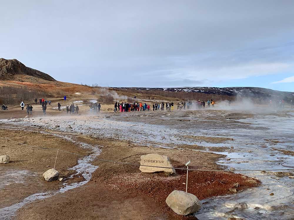 Círculo Dorado de Islandia - Géiser Strokkur