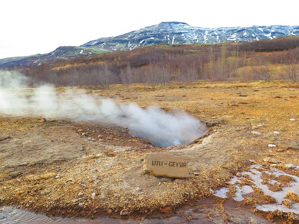 Terma Geyser de Islandia