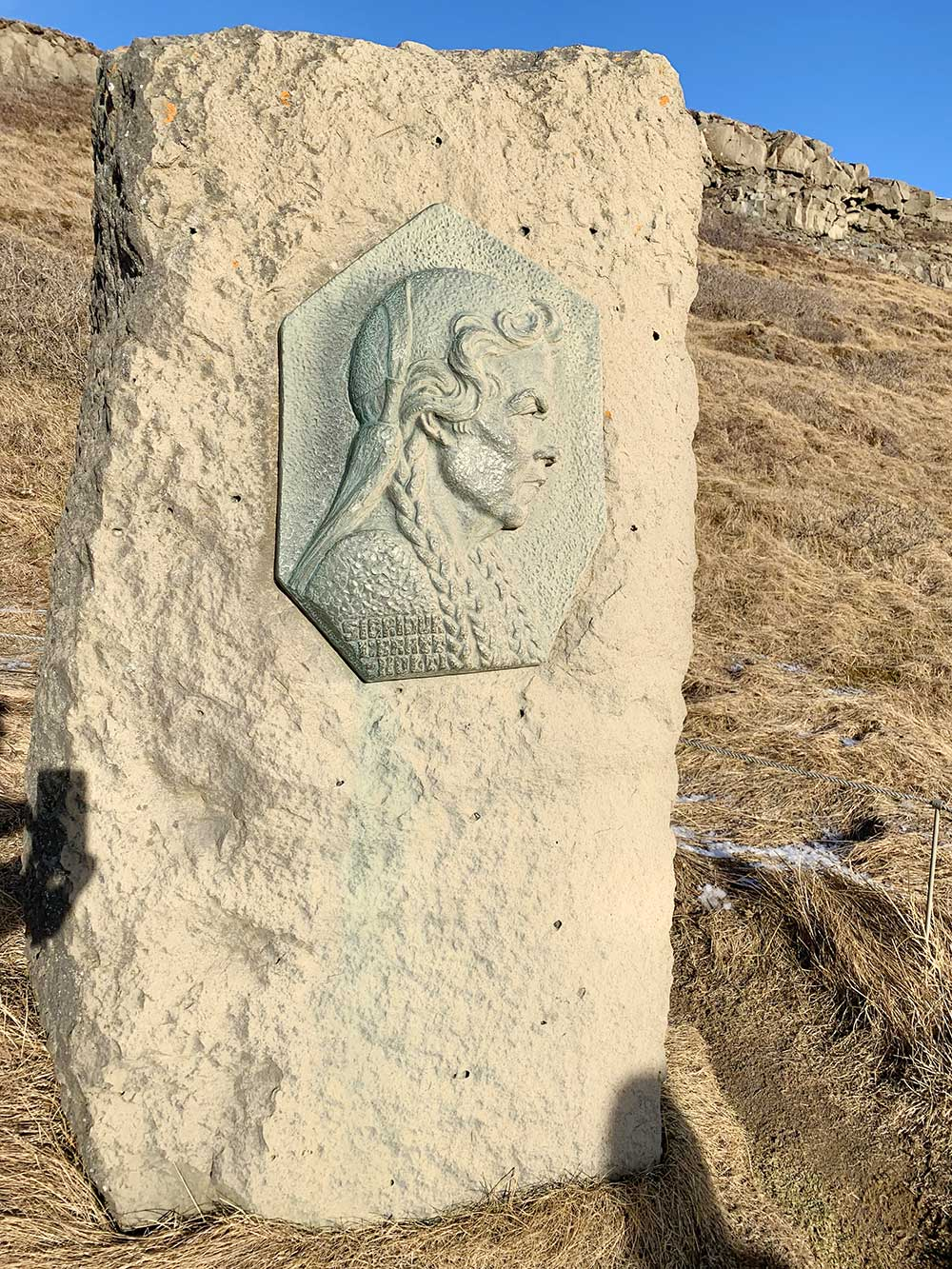 Memorial en honor a Sigríður Tómasdóttir