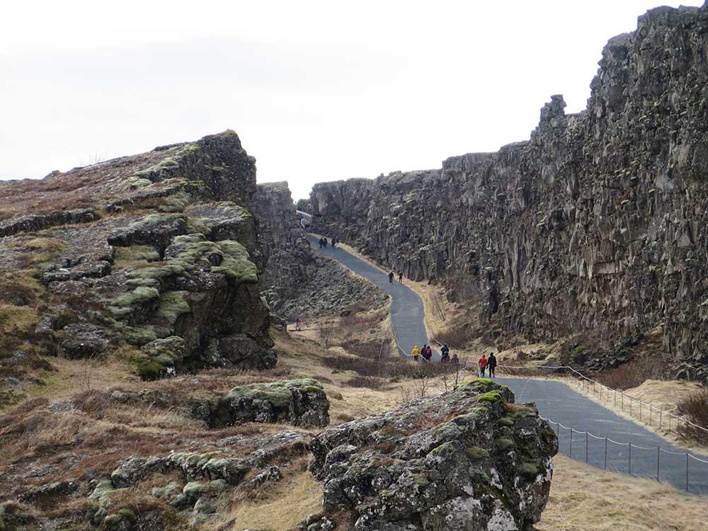 Qué ver en el Círculo Dorado - Parque Nacional de Thingvellir