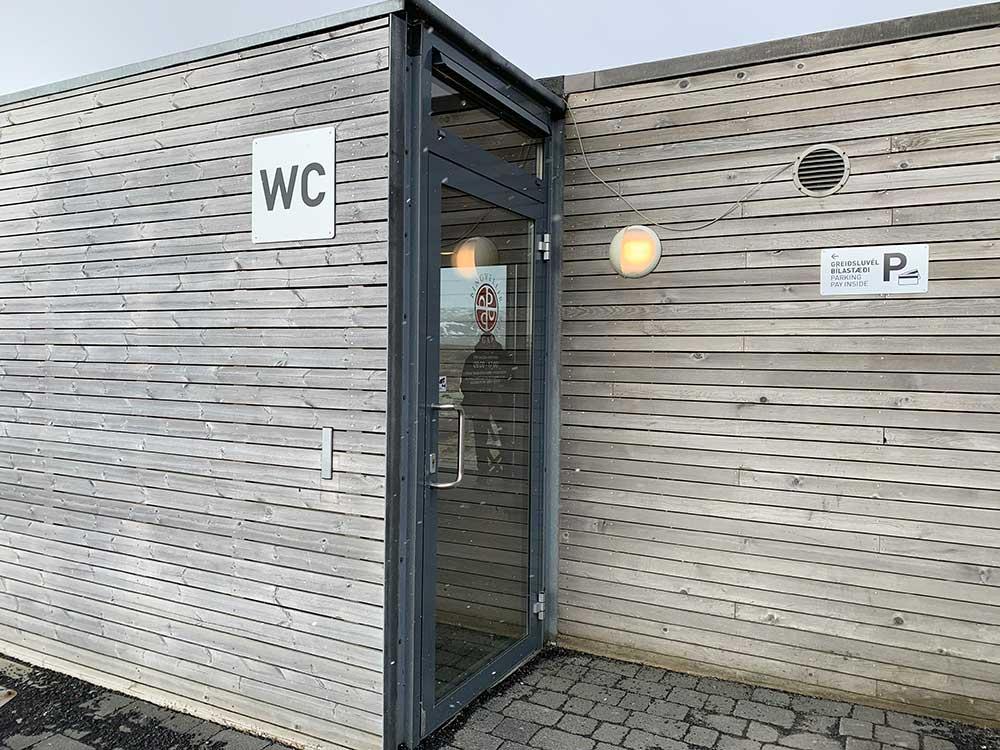 Caseta de pago parking de Thingvellir