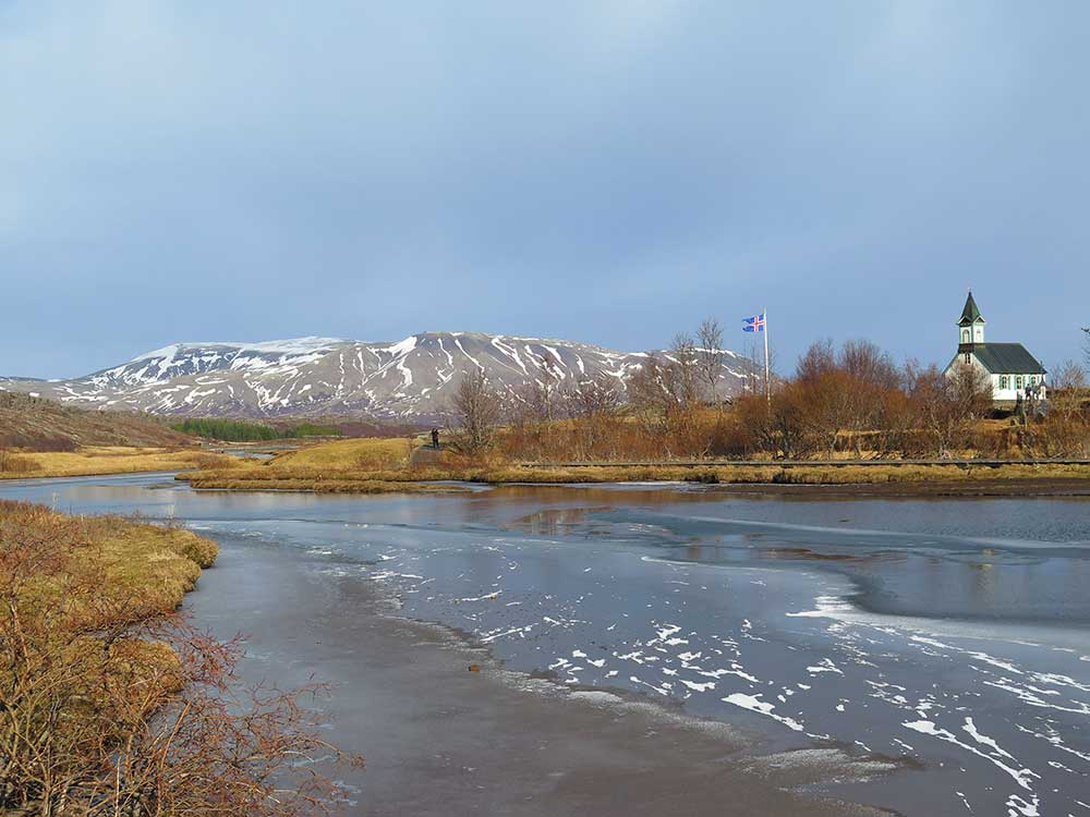 Qué ver en el Círculo Dorado - Lago Þingvallavatn