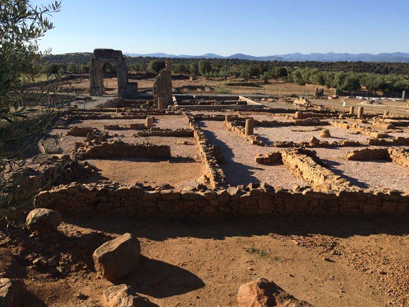 Ciudad romana Cáparra - Cáceres - Domus