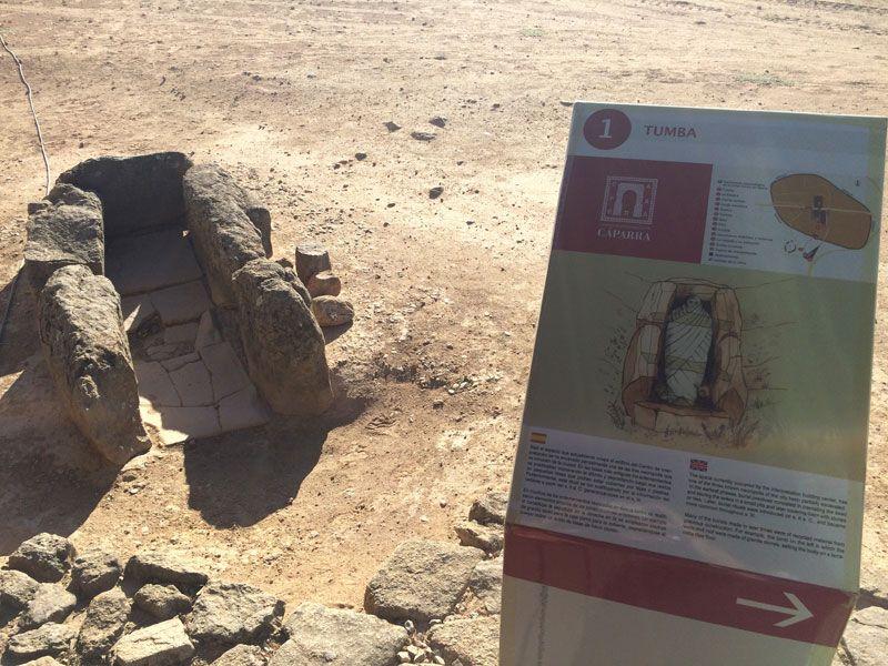Ciudad romana Cáparra - Cáceres - Tumba
