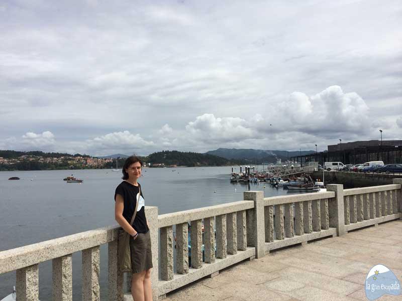 Que ver en Combarro - Vistas de Poio y desde el puerto del club náutico de Combarro