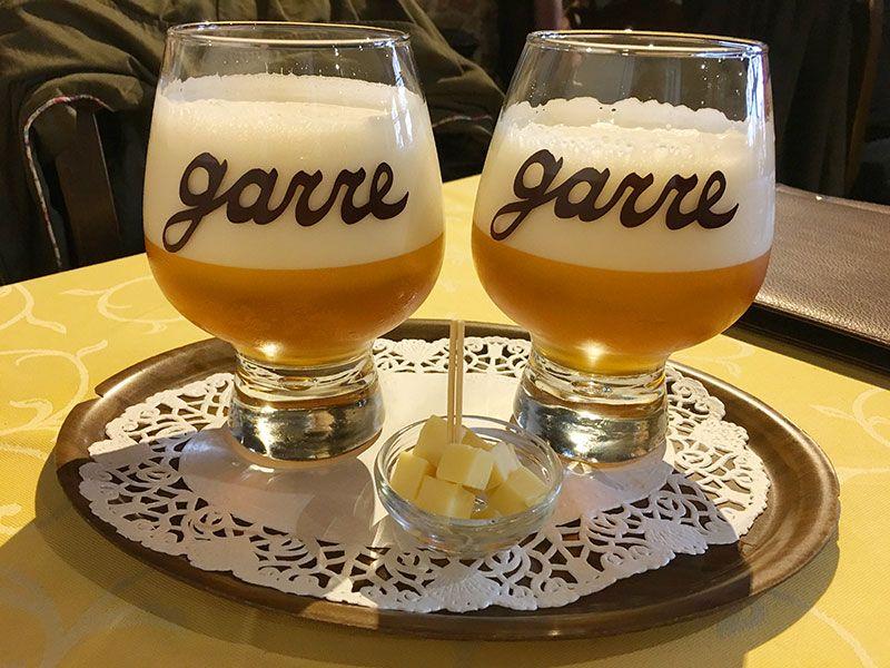 Comer en Flandes - Brujas - De Garre - Cervezas