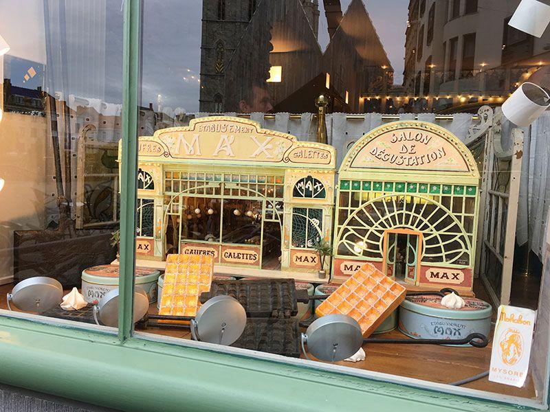 Comer en Flandes - Gante - Cafetería Max