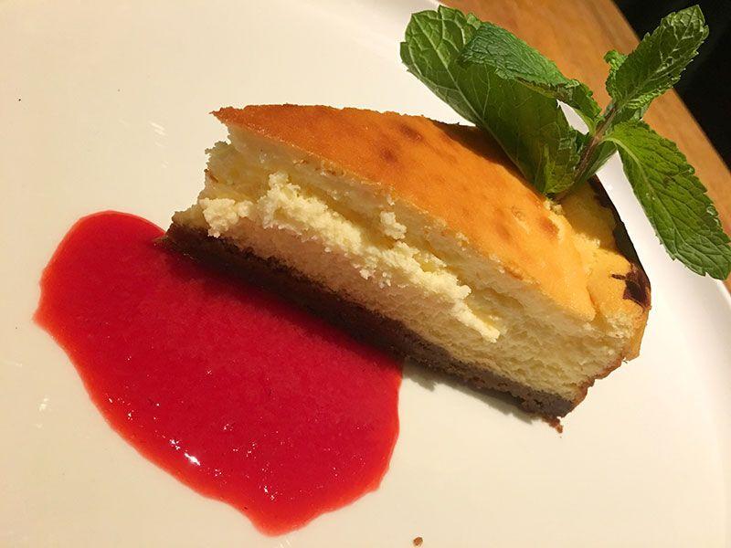 Comer en Flandes - Gante - Pakhuis - Tarta de queso