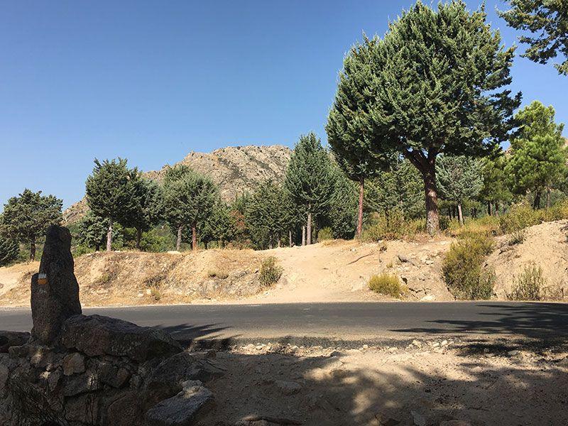 Cómo llegar a la Charca Verde - La Pedriza - Cruce de carretera