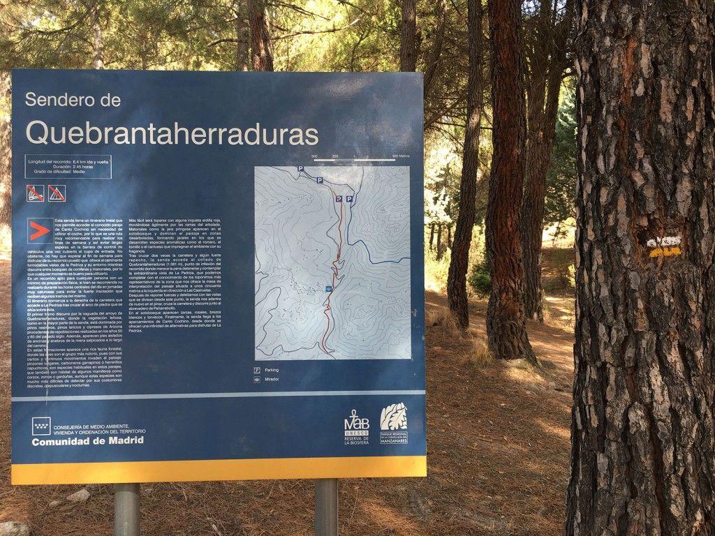 Cómo llegar a la Charca Verde - La Pedriza - Información del sendero