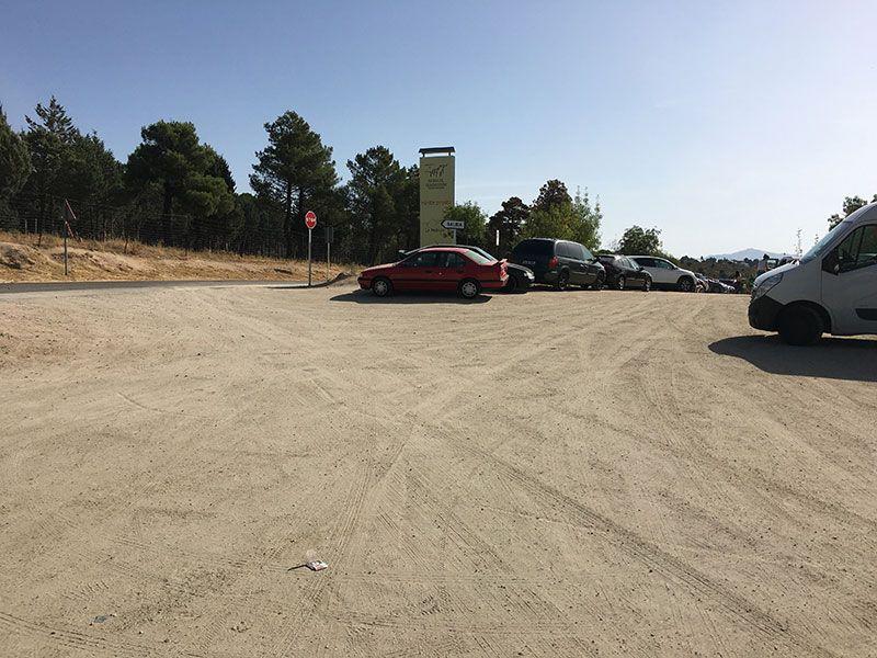 Cómo llegar a la Charca Verde - La Pedriza - Parking del Centro de Visitantes