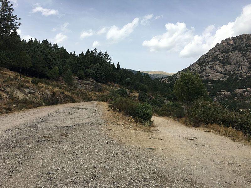 Cómo llegar a la Charca Verde - La Pedriza - Desvío