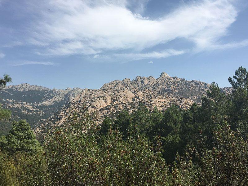 Cómo llegar a la Charca Verde - La Pedriza - Vistas de la montaña