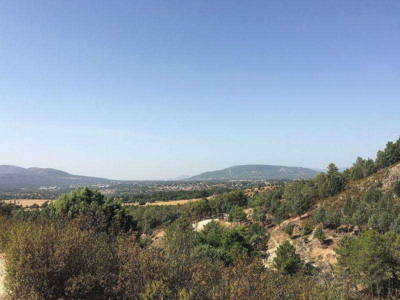 Cómo llegar a la Charca Verde - La Pedriza - Vistas del valle