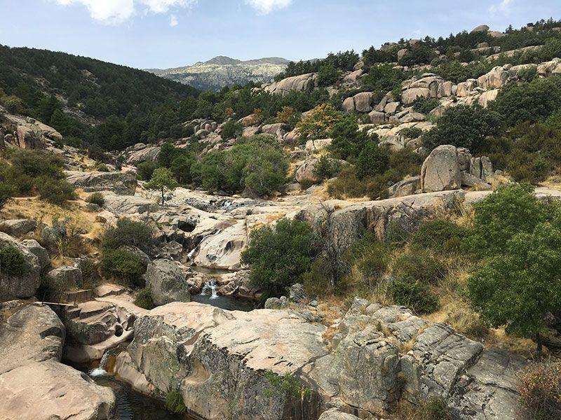 Cómo llegar a la Charca Verde - La Pedriza - Zona rocosa