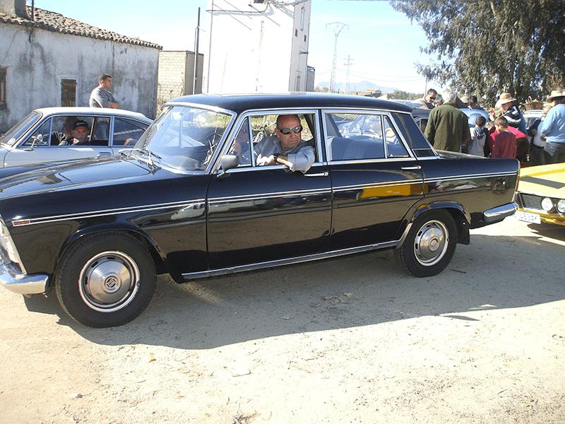 Concentración de Clásicos de Alcollarín - Seat 1500 de la primera edición