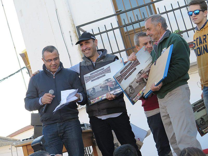 Concentración de Clásicos de Alcollarín - Entrega de premios