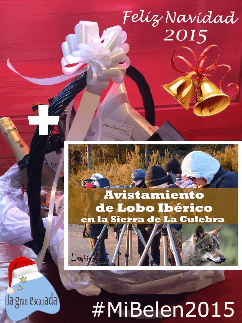 Cesta de Navidad concurso 2015