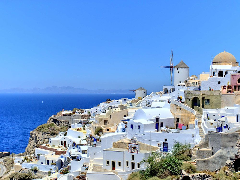 Crucero por las Islas Griegas - Satorini